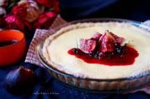 Vanilkový koláč ze Skyru s ovocnou omáčkou | reBarbora's kitchen