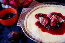 Vanilkový koláč ze Skyru s ovocnou omáčkou   reBarbora's kitchen