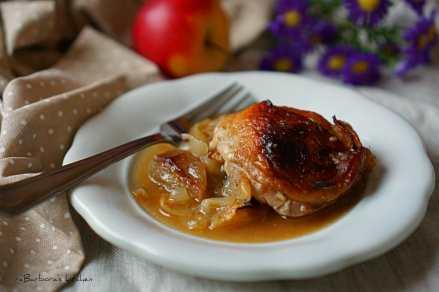 Kuřecí kousky na jablíčkách | reBarbora's kitchen