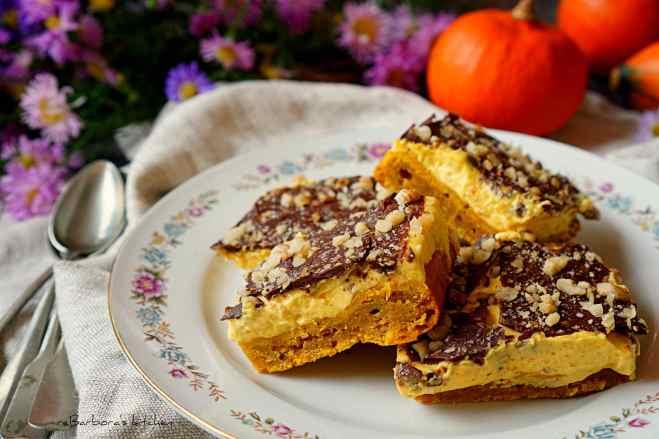 Dýňové řezy s krémem a čokoládou | reBarbora's kitchen