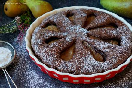 Hruškový čoko koláč s kořením | reBarbora's kitchen