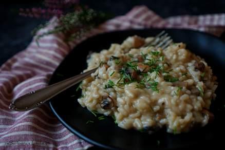 Houbové risotto | reBarbora's kitchen