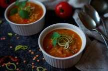 Pikantní polévka z červené čočky | reBarbora's kitchen