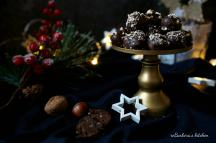 Lanýžové pralinky s oříšky a vanilkovým koňakem | reBarbora's kitchen