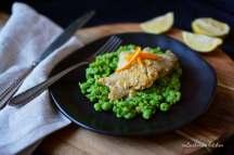 Treska na pomeranči s mačkaným hráškem | reBarbora's kitchen