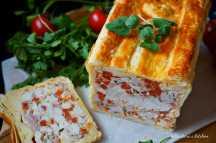 Kuřecí paštika (chlebíček) v listovém těstě | reBarbora's kitchen