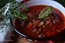 Kančí guláš (ragů) na víně | reBarbora's kitchen