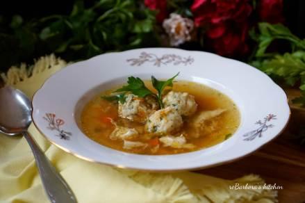 Vývar tak trochu jinak se zeleninovými knedlíčky | reBarbora's kitchen