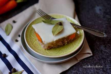 Maminčin domácí sulc/huspenina | reBarbora's kitchen