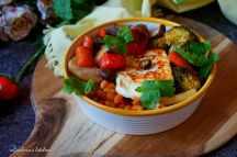 Bowl (miska) s pečenou zeleninou a sýrem haloumi aka budha bowl | reBarbora's kitchen