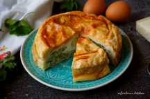 Torta pasqualina - Italský špenátový koláč | reBarbora's kitchen