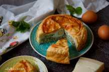 Torta pasqualina - Italský špenátový koláč   reBarbora's kitchen