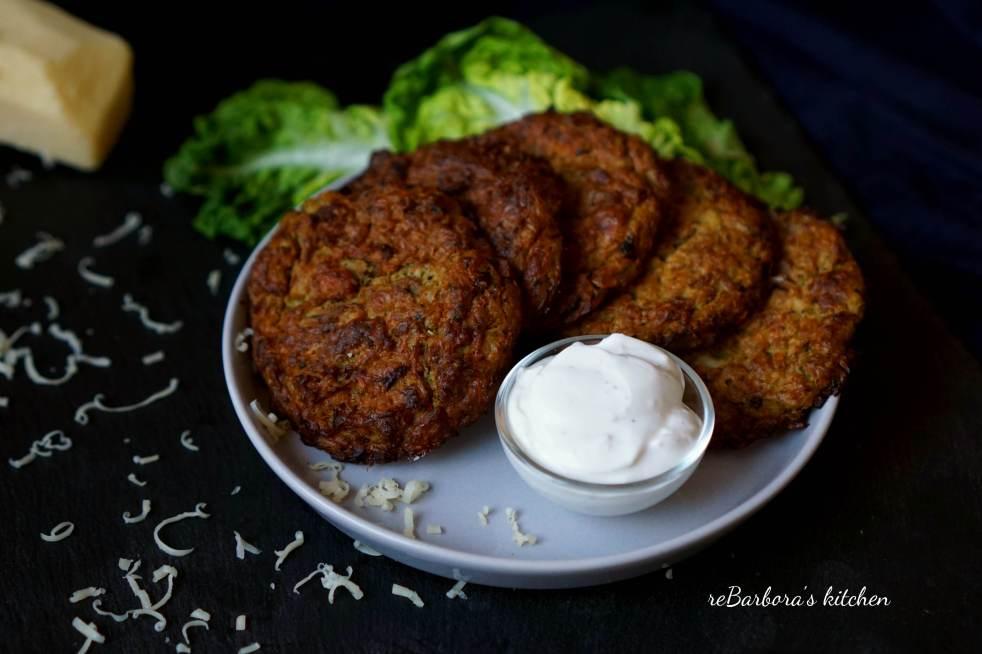 Pečené placičky z květáku a brokolice | reBarbora's kitchen