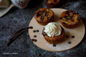 Banánové muffiny s čokoládou   reBarbora's kitchen