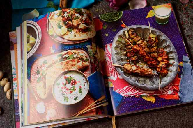 Recenze knih: Moderní indická kuchařka - Nitisha Patel | reBarbora's kitchen