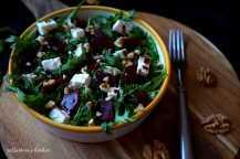 Salát s červenou řepou a balkánským sýrem | reBarbora's kitchen