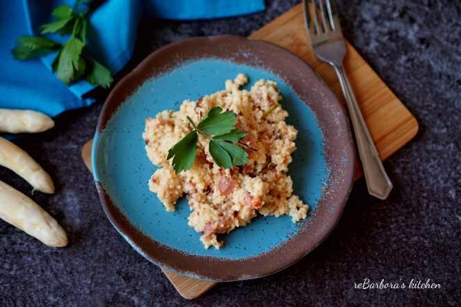 Kuskus s chřestem | reBarbora's kitchen