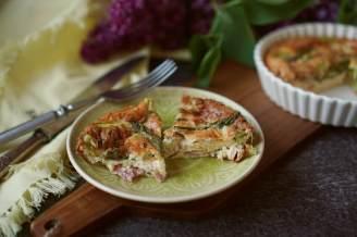 Frittata s chřestem | reBarbora's kitchen