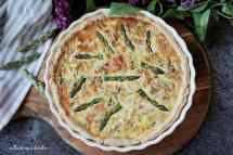 Quiche s chřestem | reBarbora's kitchen