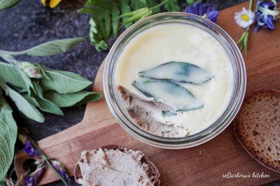 Paštika se šalvějí | reBarbora's kitchen