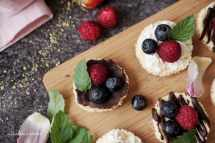 Mini cheesecake s ovocem   reBarbora's kitchen