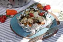 LotusGrill: Treska v papilotě na zelenině s omáčkou beurre blanc | reBarbora's kitchen