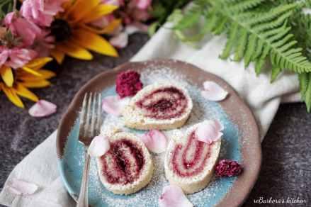 Piškotová roláda s marmeládou | reBarbora's kitchen