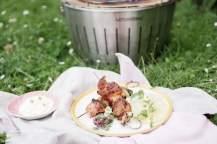 LotusGrill: Kuřecí špízy v marinádě s ananasem a cuketou   reBarbora's kitchen