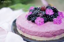 Ostružinový cheesecake - nepečený   reBarbora's kitchen