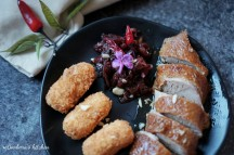 Kachní prsa s bramborovo-mandlovými kroketami a chutney (čatní) z červeného zelí | reBarbora's kitchen