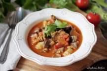 Cuketovo-lilkový guláš | reBarbora's kitchen