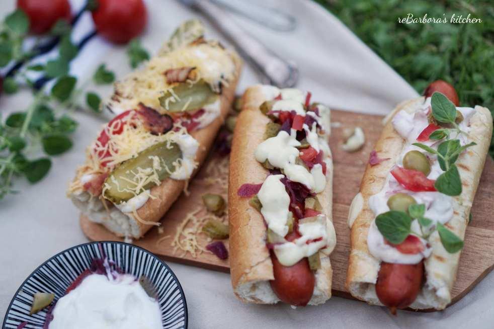 LotusGrill: Domácí Hot dogs | reBarbora's kitchen