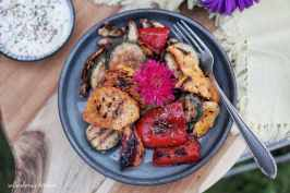 LotusGrill: Pestrobarevná grilovaná zelenina s dipem z sýru feta | reBarbora's kitchen
