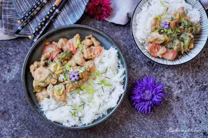 Kuřecí kousky se zeleninou v asijském duchu | reBarbora's kitchen