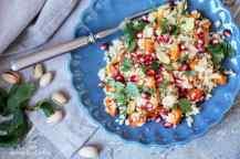 Podzimní salát z bulguru s dýní | reBarbora's kitchen