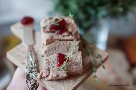 Zvěřinová - Dančí paštika | reBarbora's kitchen