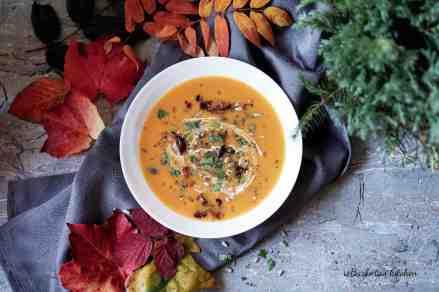 Batátová polévka - s vůní orientu nebo se sýrem   reBarbora's kitchen