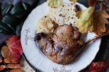 Svatomartinská husa, domácí bramborový knedlík a jablíčkové zelí | reBarbora's kitchen
